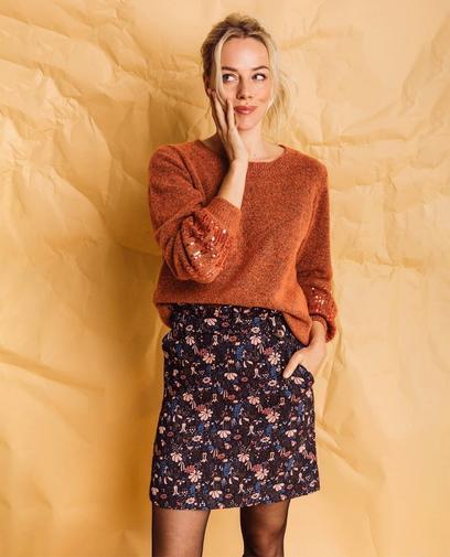 Ce petit truc en plus avec cette jupe florale
